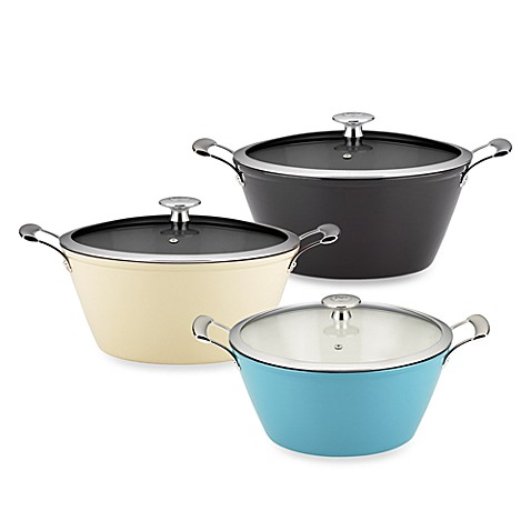 "Mario Batali by Dansk™ ""Mario Light"" 6-Quart Round Casserole"