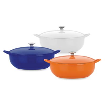 Mario Batali by Dansk™ Classic 7 1/2-Quart Stew Pot in Persimmon