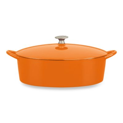 Mario Batali by Dansk™ Classic 6-Quart Oval Dutch Oven