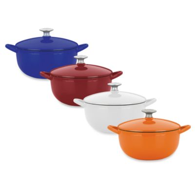 Mario Batali by Dansk™ Classic 4-Quart Round Dutch Oven in Chianti