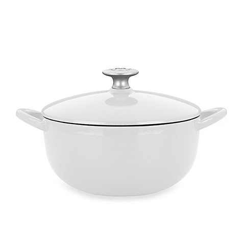 Mario Batali by Dansk™ Classic 4-Quart Soup Pot in White
