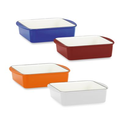 Mario Batali by Dansk™ Classic 9-Inch Square Baker in Cobalt