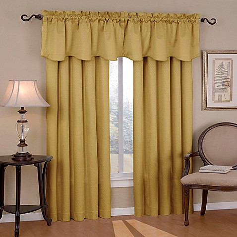 Insola Carmen Rod Pocket Blackout Window Valance