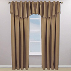 Eclipse™ Tavern Rod Pocket/Back Tab Blackout Window Curtain Panels