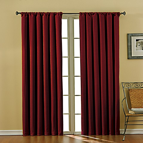Theodore Rod Pocket Blackout Window Curtain Panels