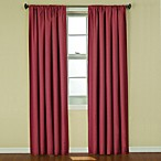 image of Insola Kate Rod Pocket Blackout Window Curtain Panel