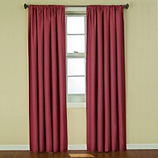 Insola Kate Rod Pocket Blackout Window Curtain Panel