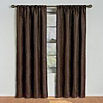 Milano 84-Inch Rod Pocket Blackout Window Curtain Panel in Toffee