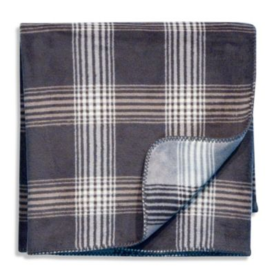 Bocasa Cube Anthracite Passion Trend Woven Throw Blanket