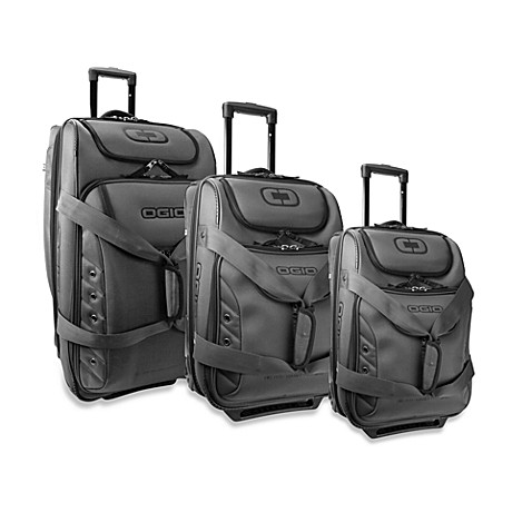 OGIO® Ascender Charcoal Expandable Wheeled Duffel Collection