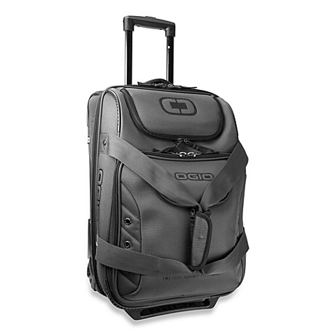 OGIO® Ascender Charcoal 26-Inch Expandable Wheeled Duffel