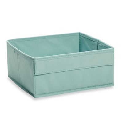 Real Simple® Shallow Fabric Drawer in Blue