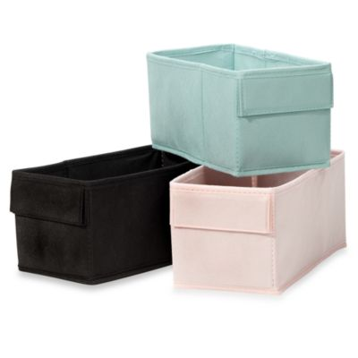 Real Simple® Cross Frame Fabric Bin Pack of 2