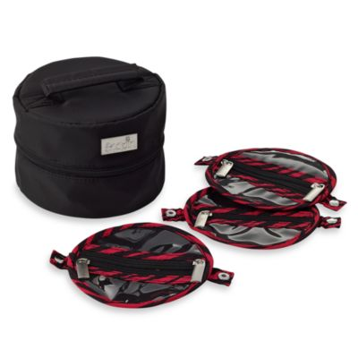 SnapIn™ Travel Jewelry Case in Black