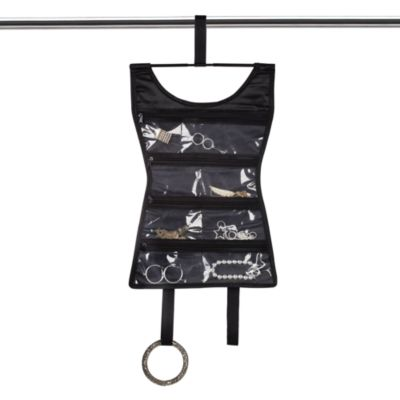 Umbra® Little Black Dress Hanging Double-Sided Jewelry Organizer