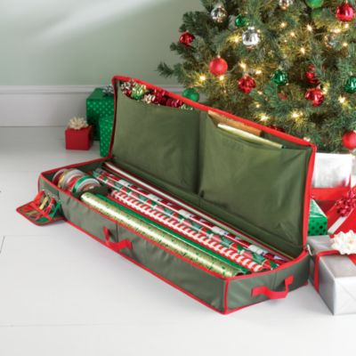 Real Simple Holiday Gift Wrap Under Bed Storage Station