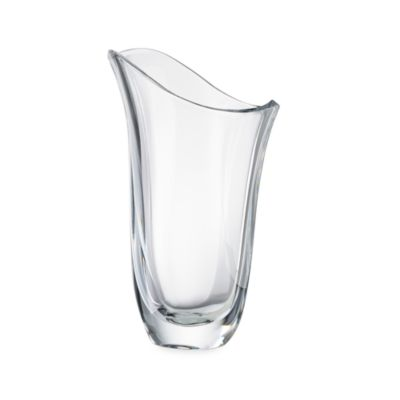 Nambe Love Birds 12-Inch Crystal Vase