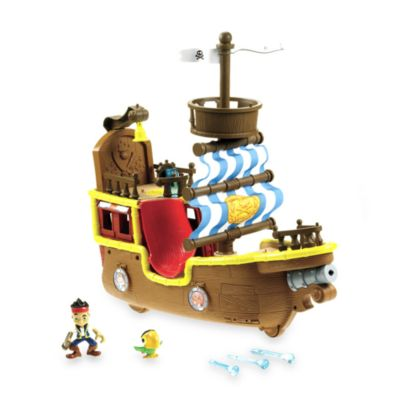 Fisher-Price® Jake and the Never Land Pirates Jack's Musical Pirate Ship Bucky