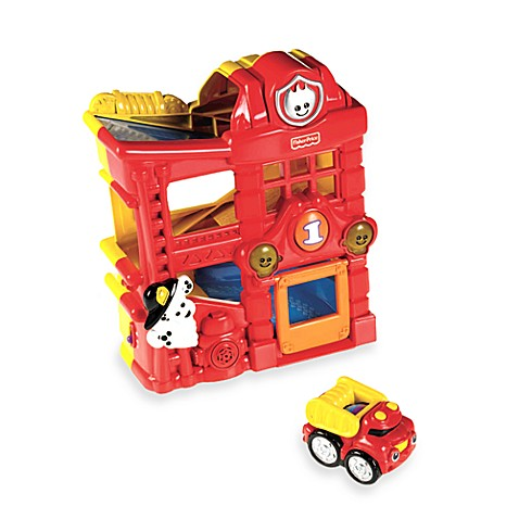 Fisher-Price® Lil' Zoomers™ Rac in ' Ramps Firehouse™