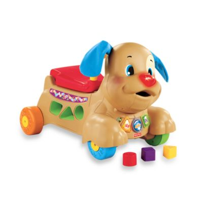 Fisher-Price® Laugh & Learn™ Stride-to-Ride® Puppy - from Fisher Price