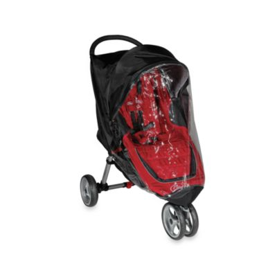 Baby Jogger™ Summit XC & FIT Single Stroller Rain Canopy in Black