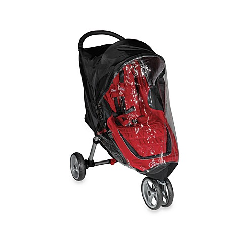 Baby Jogger® Summit XC & FIT Single Stroller Rain Canopy in Black