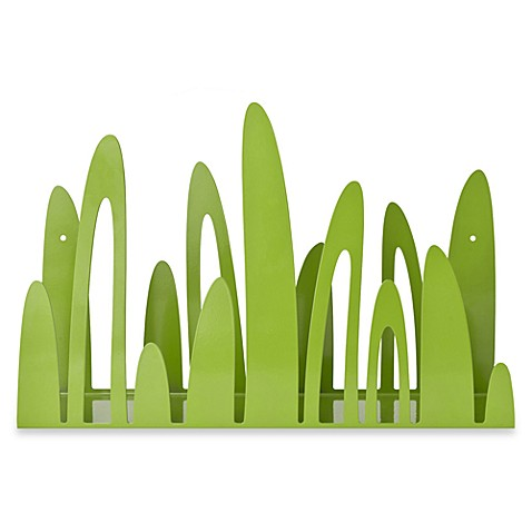 Boon Turf Front-Facing Bookshelf in Green