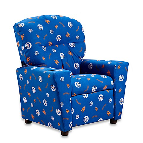 Official MLB® Kids Recliner in New York Mets