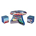 Delta Disney®/Pixar Cars 3-Piece Track Table and Ottoman Set