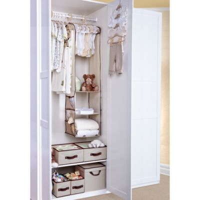 Delta Deluxe 100-Piece Nursery Closet Storage Set