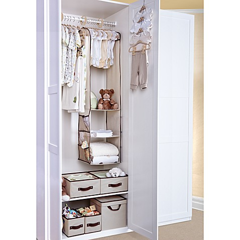 buy delta deluxe 100 piece nursery closet storage set from