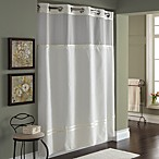 Hookless® Escape 71-Inch x 74-Inch Fabric Shower Curtain and Liner Set in Ivory