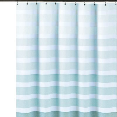 Striped Cotton Shower Curtains