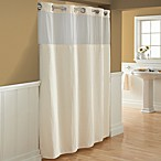 Hookless® Waffle Window and Shower Curtains in Cream
