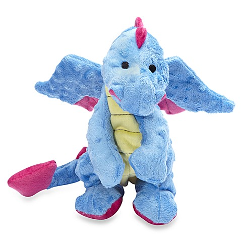 Baby Dragon Squeaker Toy With Chew Guard Technology Bed