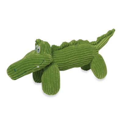 Gary the Gator™ Corduroy Balloon™ Dog Toy