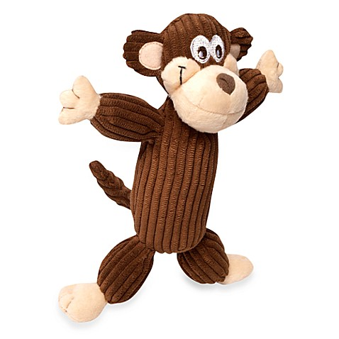 Murray the Monkey™ Corduroy Balloon™ Dog Toy