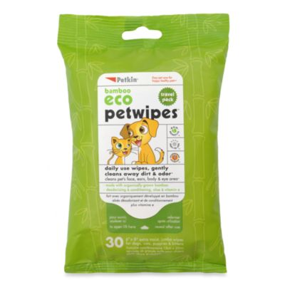 Petkin® Cloth 30-Count PetWipes™ Travel Pack