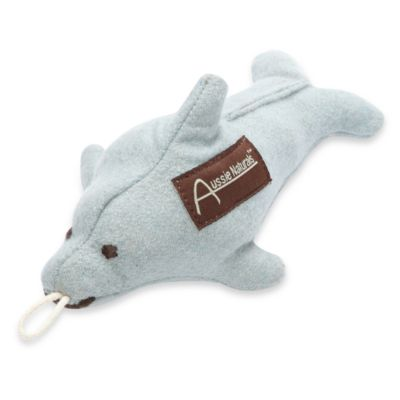 100% Natural Wool Medium Dolphin Dog Toy by ABO Gear Aussie Naturals®