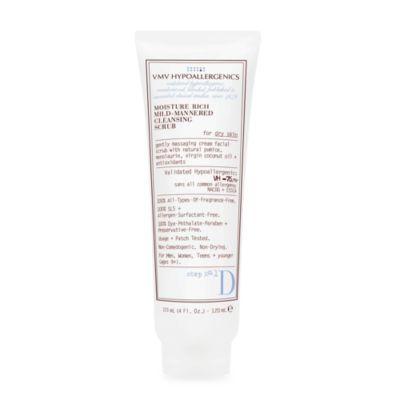 VMV Hypoallergenics Moisture Rich Mild Cleansing Scrub for Dry Skin
