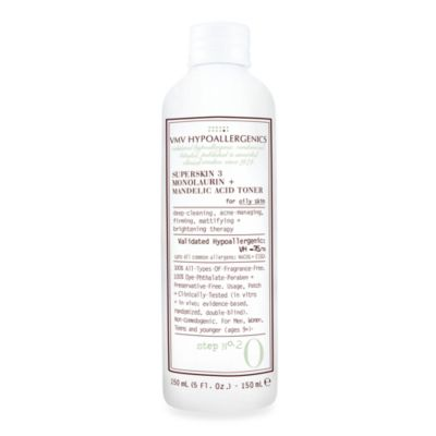 VMV Hypoallergenics SuperSkin 2 Toner with Monolaurin and Mandelic Acid for Combination Skin