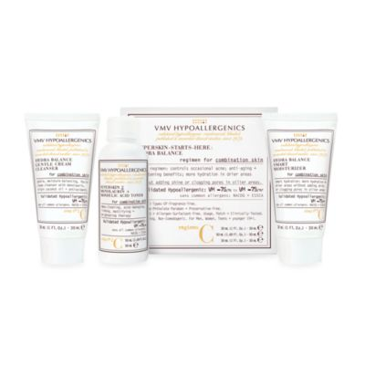 VMV Hypoallergenics SuperSkin Care Starter Kit for Oily Skin