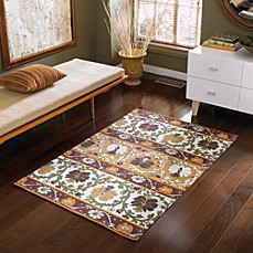 B. Smith Lola Handwoven Printed Cotton Rug