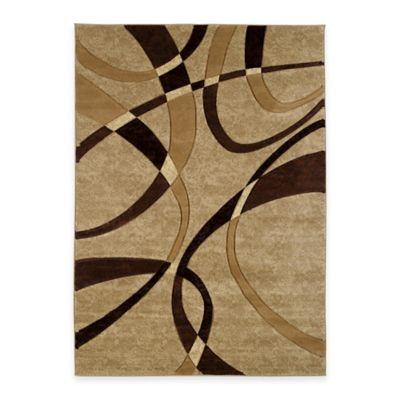 United Weavers Contours La-Chic 5-Foot 3-Inch x 7-Foot 6-Inch Area Rug