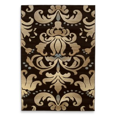 United Weavers Contours Lotus 2-Foot 7-Inch x 7-Foot 4-inch Runner