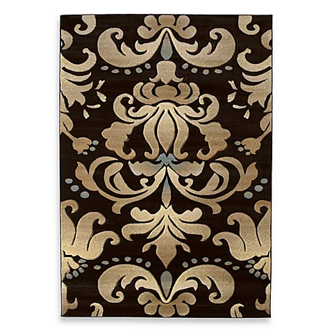 United Weavers Contours Lotus 2-inch 7-Inch x 4-Inch 2-Inch Area Rug