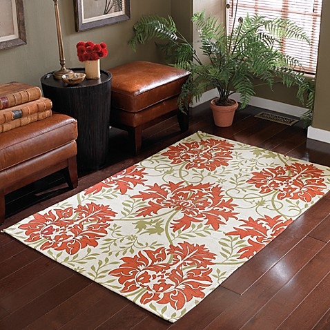 B. Smith Ophelia Handwoven Printed Cotton Rug