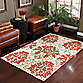 B. Smith Ophelia Handwoven Printed Cotton 1-Foot 8-Inch x 2-Foot 10-Inch Rug