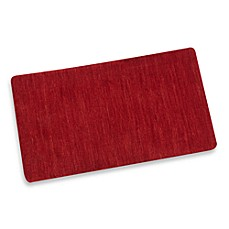 Merino Collection Handcrafted Red Cotton Rugs
