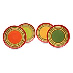 Hot Tamale 11-Inch Dinner Plates in (Set of 4)